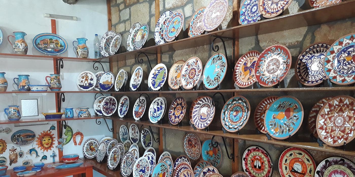 Rhodes Pottery Factory