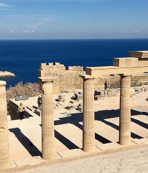 Lindos Acropolis Site