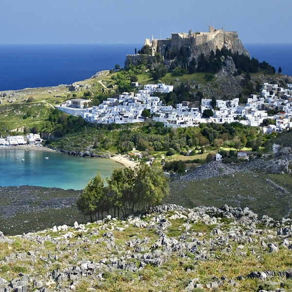Lindos Panoramic View