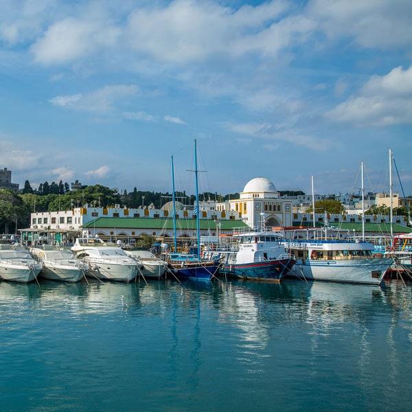 Mandraki Harbor