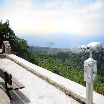 Panoramic View of Monolithos
