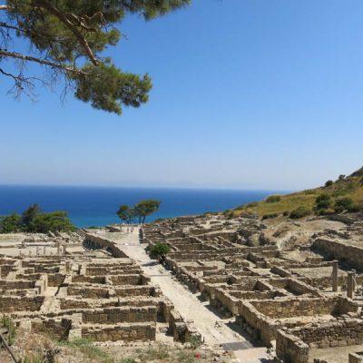 Ancient Kamiros Ruins