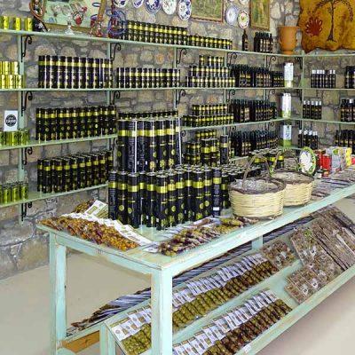 Rhodes Olive Oil shop