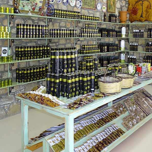 Rhodes Olive Oil shop