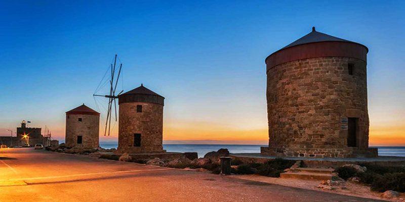 Windmills Rhodes